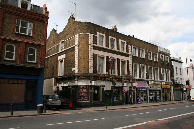 The 'King's Head', Kingsland Road, London