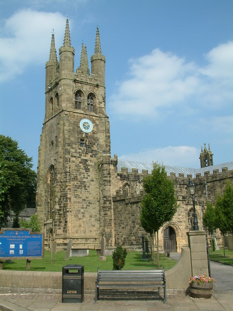 The church of St John the Baptist Tideswell