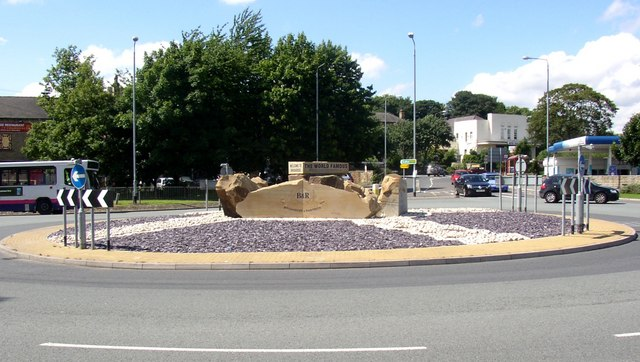 The 'Brighouse and Rastrick' roundabout, Brighouse