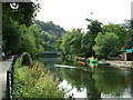 SK2958 : The River Derwent at Matlock Bath by Dave Butlin