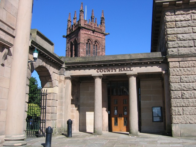 Entrance to County Hall