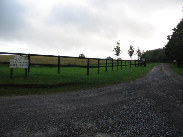 Entrance to Westbrook Equestrian Centre