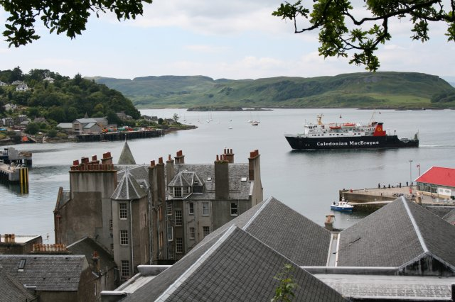 Oban Bay and the Isle of Mull Ferry