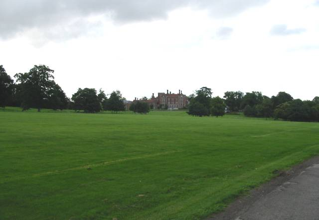 Benenden School from the approach road