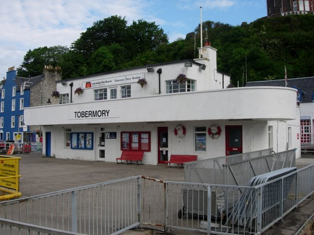 Tobermory Ferry terminal
