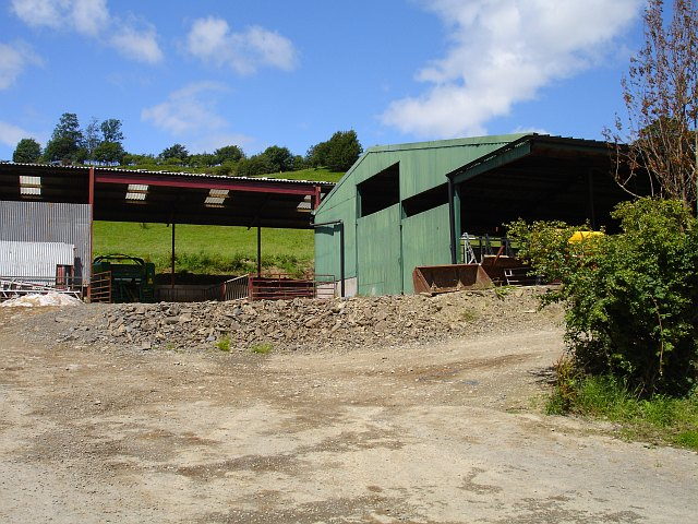 Farm buildings at Garth Vaughan