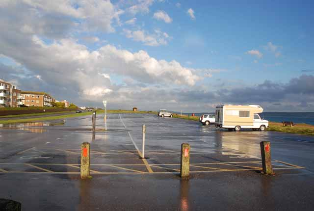 Car Park at Milford on Sea