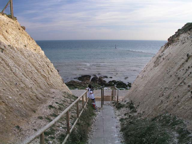 Path to Telscombe beach