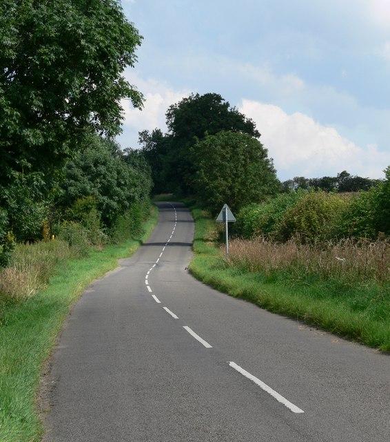 Gartree Road near Little Stretton