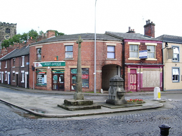 Cross and Drinking Fountain, Towngate, Leyland