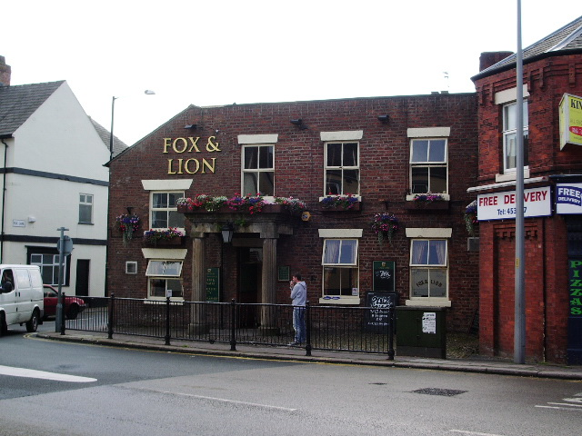 "The ""Fox and Lion"", Towngate, Leyland"