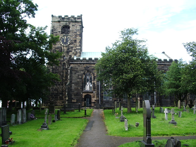 The Parish Church of St Andrews, Leyland