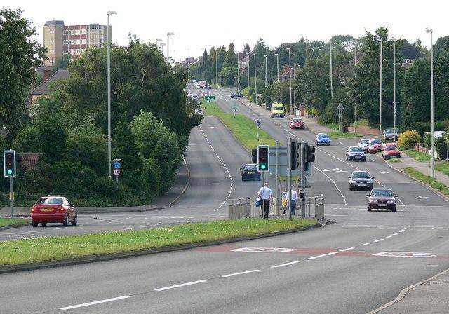 The A6 Glen Road, Oadby