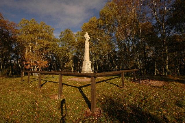 Memorial near Ferness
