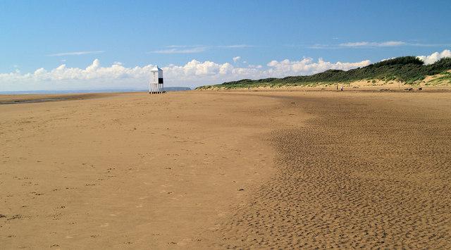Burnham on Sea beach.