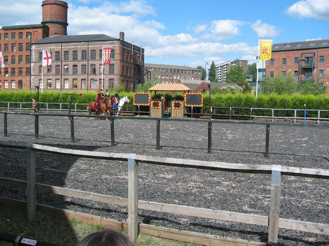 Jousting Leeds Royal Armoury
