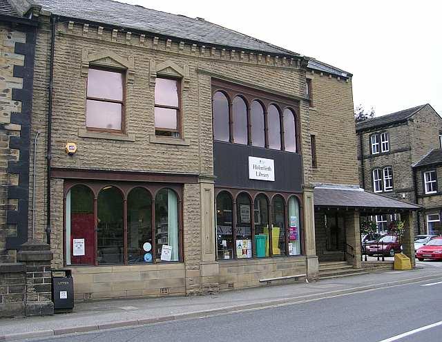 Holmfirth Library - Huddersfield Road
