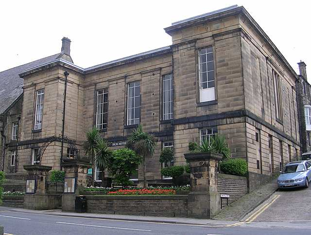 Holmfirth Civic Hall - Huddersfield Road