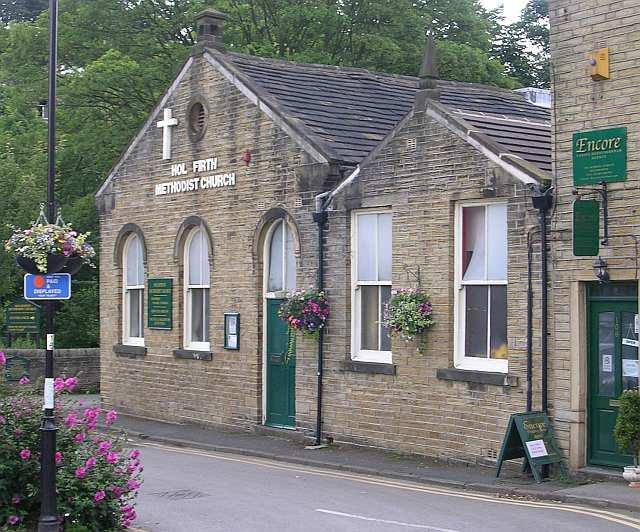 Holmfirth Methodist Church - School Street