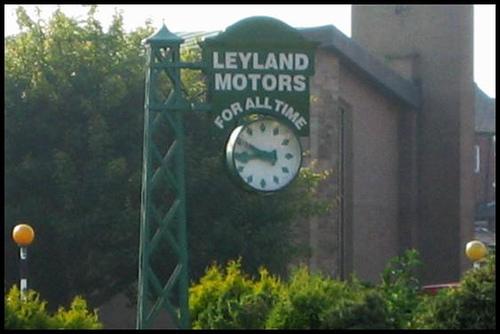 Leyland Motors Clock, Leyland