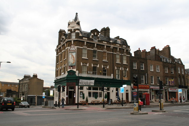 The 'Fox', Kingsland Road, London E8