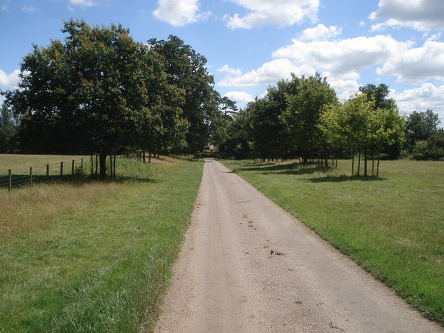 The back entrance to Hanbury Hall