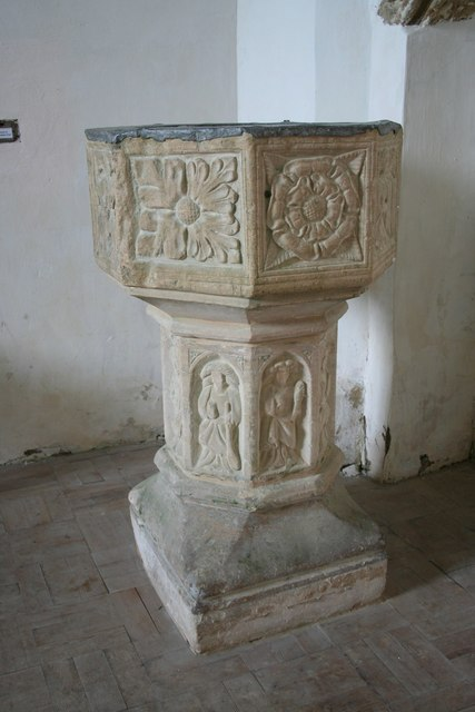All Hallows' font