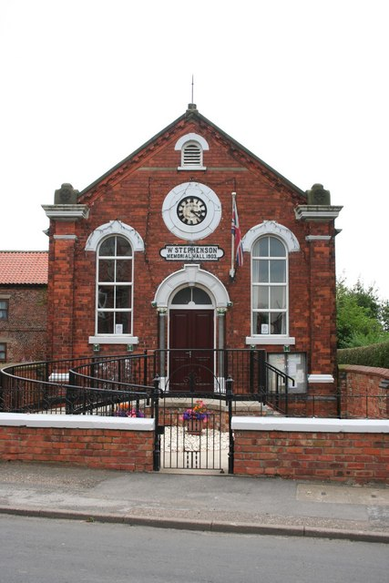 Stephenson Memorial Hall