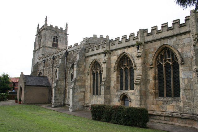 St.Oswald's church, Althorpe