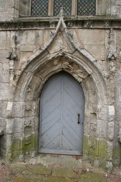 St.Oswald's west doorway