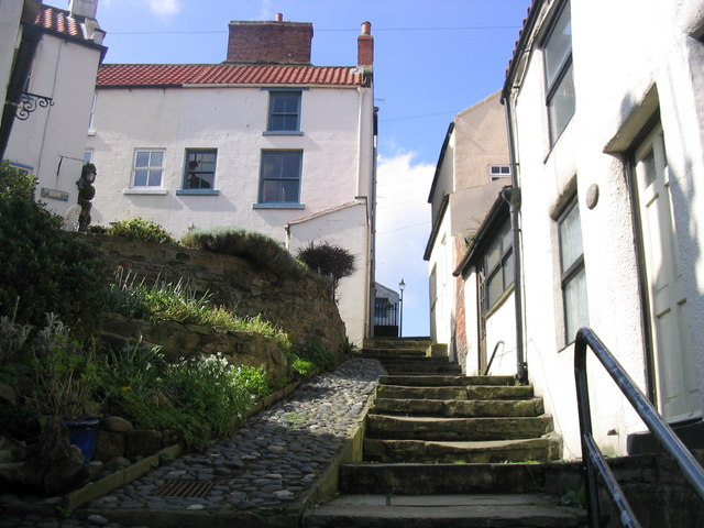 A Staithes stairway