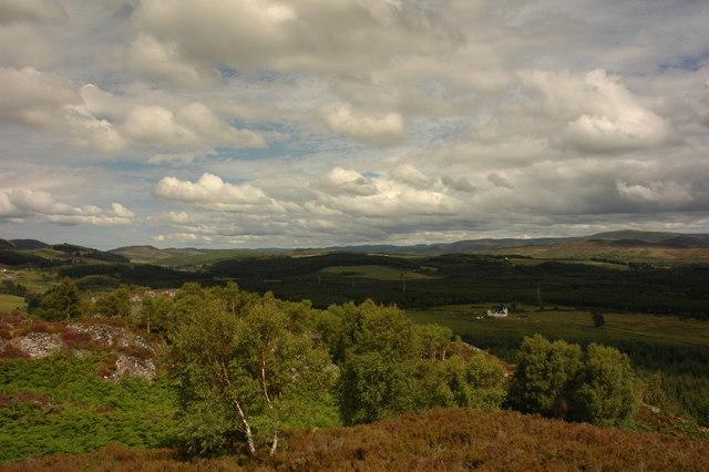 view from near Dun Garbh