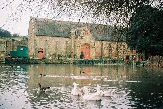 Abbotsbury: the Abbey Barn