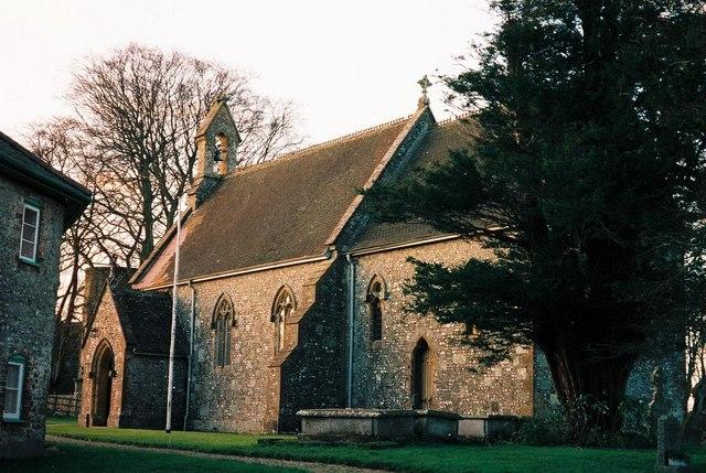 Ashmore: parish church of St. Nicholas