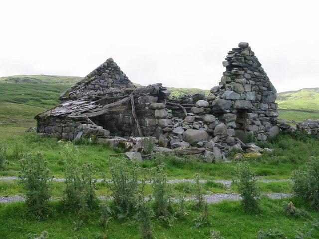 Ruined barn- Moel y Geifr