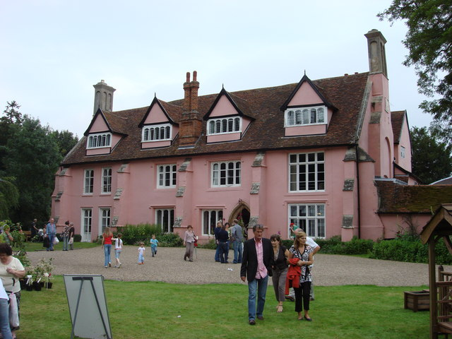 The west front of Clare Priory