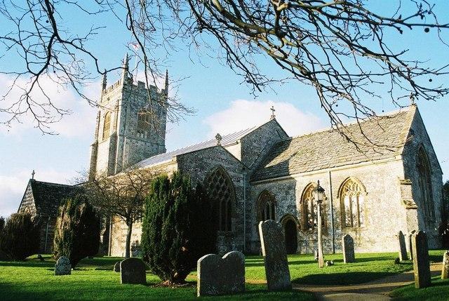 Bere Regis: parish church of St. John the Baptist