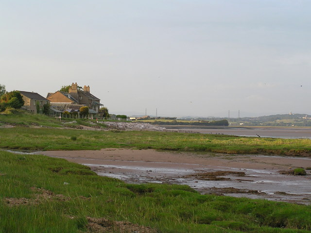 """""""Old Hall"""" at Sunderland point."""