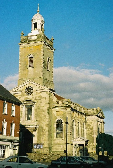 Blandford Forum: parish church of Ss. Peter & Paul