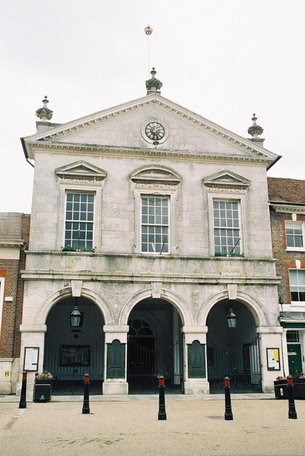 Blandford Forum: town hall
