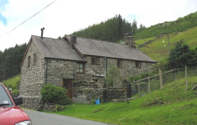 Hafodowen - a refurbished former farmhouse