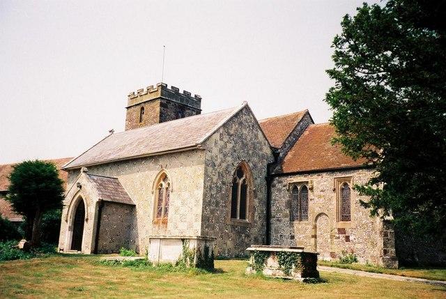 Blandford St. Mary: parish church of St. Mary