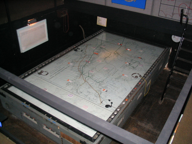 Radar guided Photographic projection table