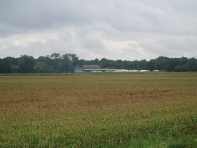 Ellerholme Farm over the fields