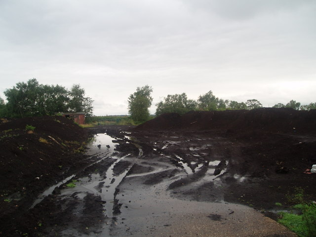 Peat Stockpile