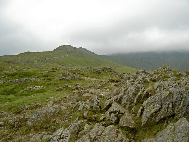 Bleaberry Crag from Hole-in-the-Wall