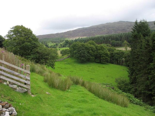 Footpath linking Hafodowen and Blaen-y-glyn
