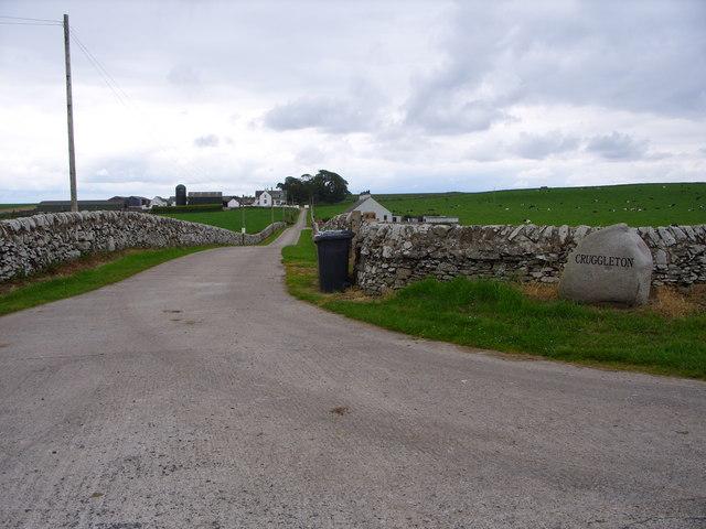 Cruggleton Farm Road