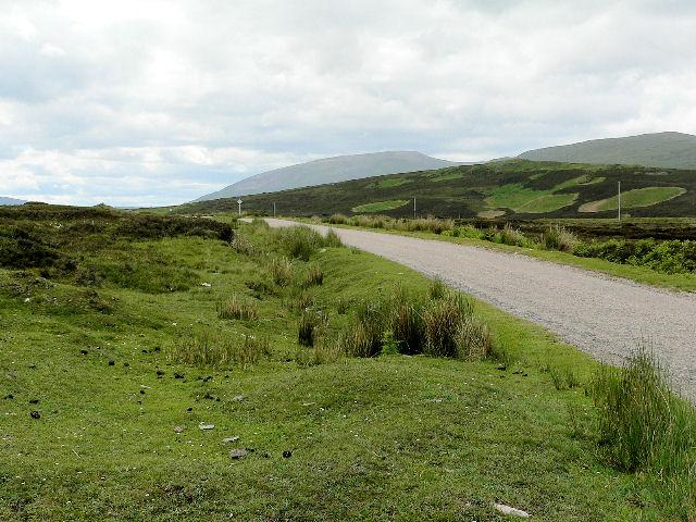 Narrow road - A838