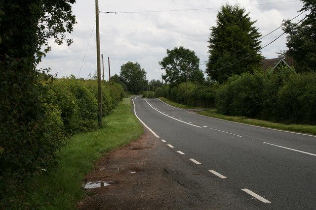 A44 near Bromyard